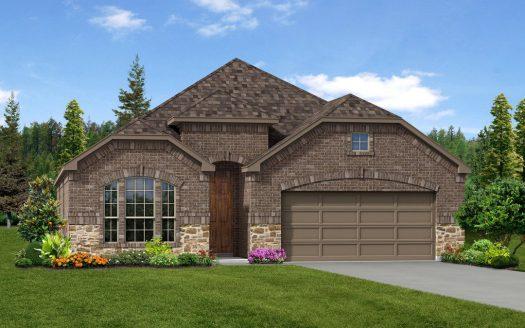 Trendmaker Homes Park Trails subdivision 413 Acadia Court Forney TX 75126