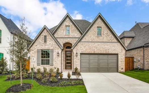 Saxony by Shaddock Homes Villas at Preston Hollow subdivision 4511 Helston Drive Plano TX 75024