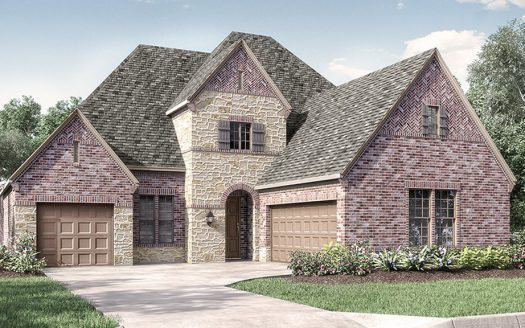 Darling Homes The Tribute Tullamore Meadows - 60' Homesites subdivision  The Colony TX 75056