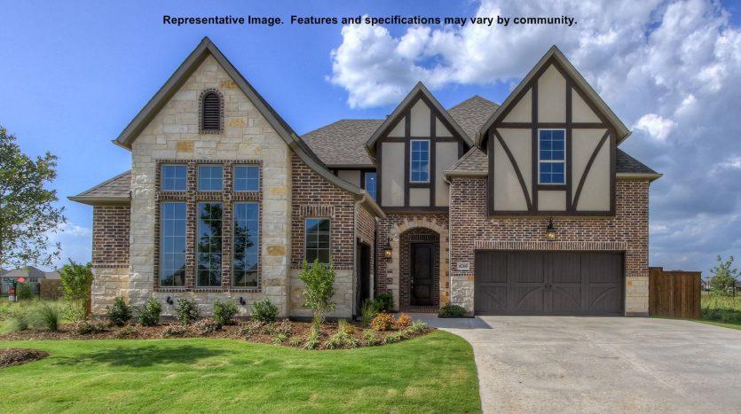 BRITTON HOMES Windsong Ranch subdivision  Prosper TX 75078