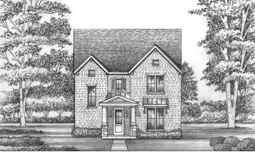 Saxony by Shaddock Homes Light Farms Brenham - 40' Lots subdivision 707 Brenham Avenue Celina TX 75009