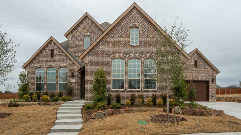 American Legend Homes Parkside subdivision 821 Biltmore Lane Prosper TX 75078