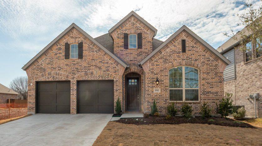 American Legend Homes Stonebridge Ranch - Melton Ridge subdivision 8901 Abbington Place McKinney TX 75072