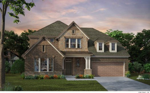 David Weekley Homes Wynn Ridge Estates Village Series subdivision 6508 Alderbrook Place McKinney TX 75071