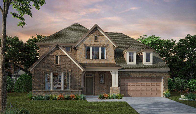 David Weekley Homes Wynn Ridge Estates Village Series subdivision 6508 Alderbrook Place McKinney TX 75071