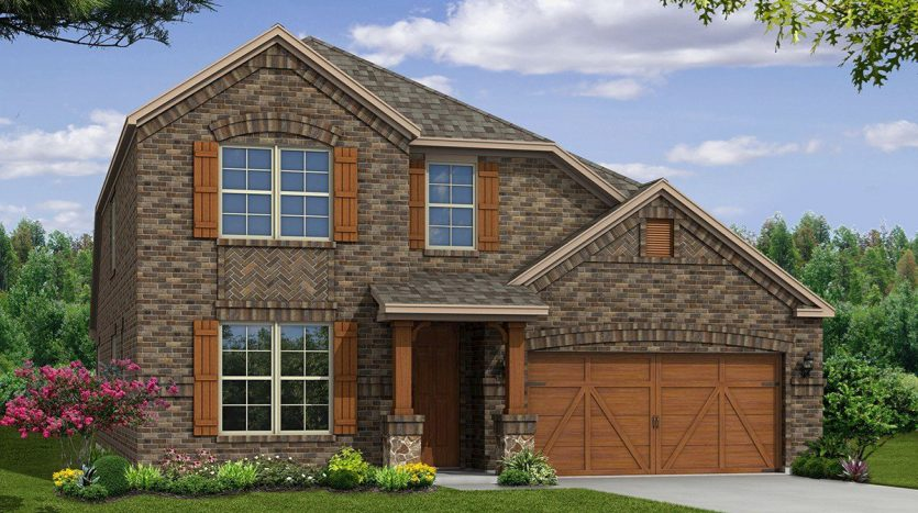 Beazer Homes Creeks of Legacy subdivision  Prosper TX 75078