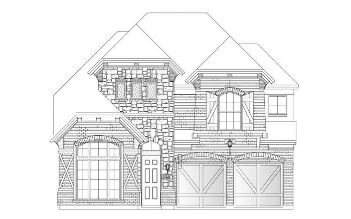 Grand Homes Chadwick Farms subdivision  Roanoke TX 76262