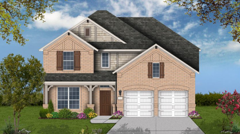 Plantation Homes Seventeen Lakes 60' Homesites subdivision  Roanoke TX 76262
