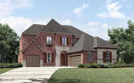 Drees Custom Homes Woodford subdivision  Keller TX 76248