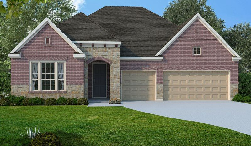 David Weekley Homes Wynn Ridge Estates Village Series subdivision 6505 Palmetto Bluff Drive McKinney TX 75071
