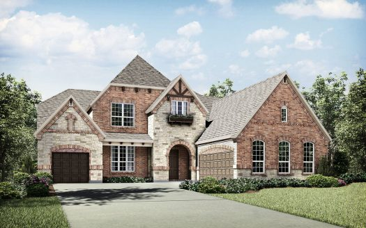 Drees Custom Homes Whitley Place subdivision  Prosper TX 75078