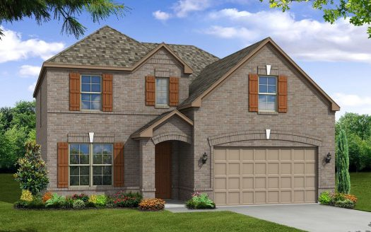 Beazer Homes Lakes of Prosper subdivision  Prosper TX 75078