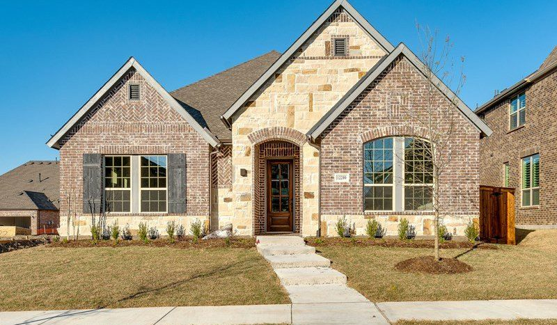 David Weekley Homes Prairie View subdivision  Frisco TX 75035