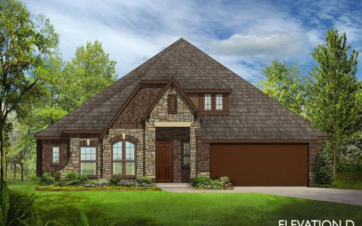 Bloomfield Homes Oak Crest Estates subdivision 185 Dickey Drive Euless TX 76040