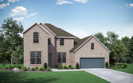 Drees Custom Homes Fairway Ranch subdivision  Roanoke TX 76262