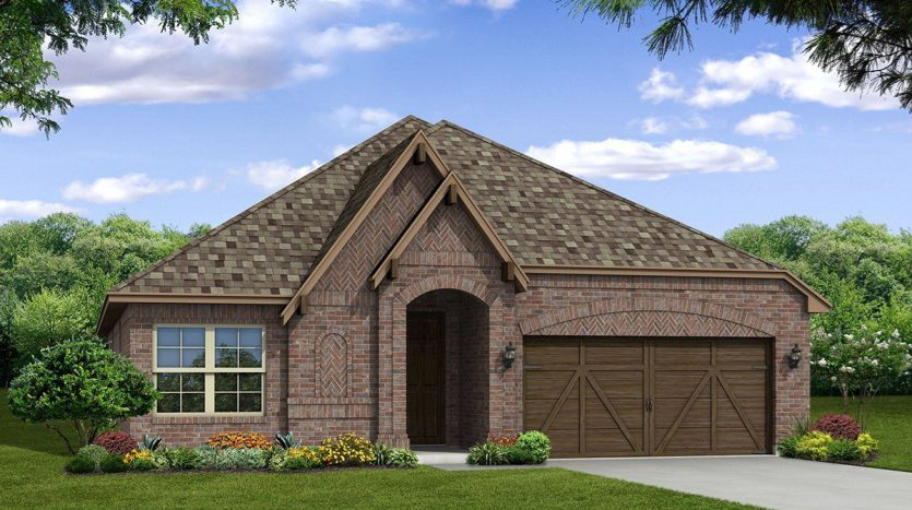 Beazer Homes Creeks of Legacy subdivision  Prosper TX 75078