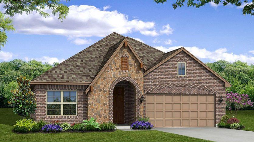 Beazer Homes Lakes of Prosper subdivision  Prosper TX 75078
