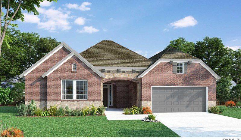 David Weekley Homes Lakes of Prosper Estate Series subdivision 331 Fawn Mist Drive Prosper TX 75078