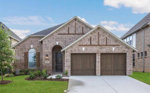 Coventry Homes Canyon Falls subdivision 6117 Whiskerbrush Rd Argyle TX 76226