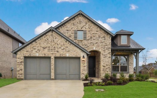 Coventry Homes Canyon Falls subdivision 6200 Cupleaf Rd Argyle TX 76226