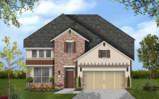 Coventry Homes Barrington at Lantana 50s subdivision  Lantana TX 76226