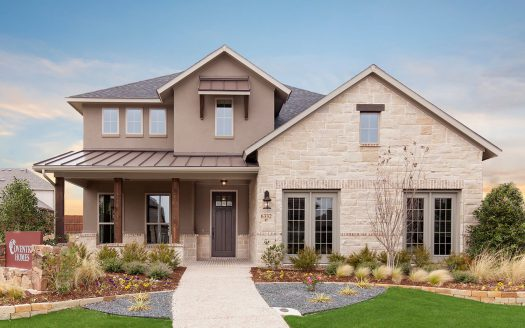 Coventry Homes Canyon Falls subdivision 6332 Cedar Sage Tr Argyle TX 76226