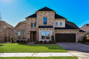 Coventry Homes Hollyhock subdivision  Frisco TX 75033