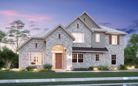 M/I Homes Creekside at Colleyville subdivision  Colleyville TX 76034