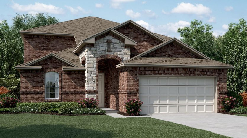 Taylor Morrison Travis Ranch subdivision 1209 Mount Olive Lane Forney TX 75126