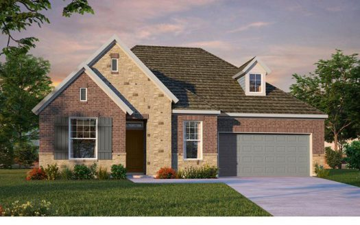David Weekley Homes Lakewood at Brookhollow subdivision 2881 Meadow Dell Drive Prosper TX 75078