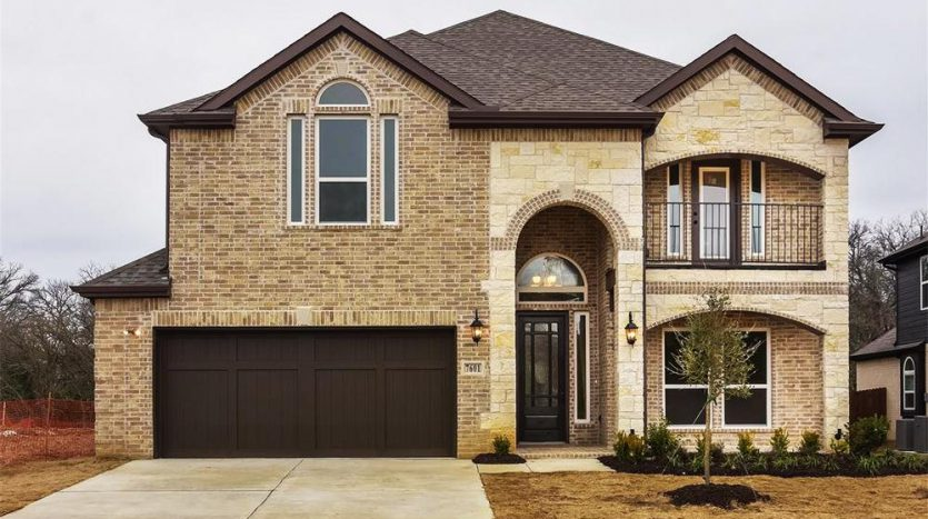 First Texas Homes The Preserve at Pecan Creek subdivision 7601 Castle Pines Lane Denton TX 76208