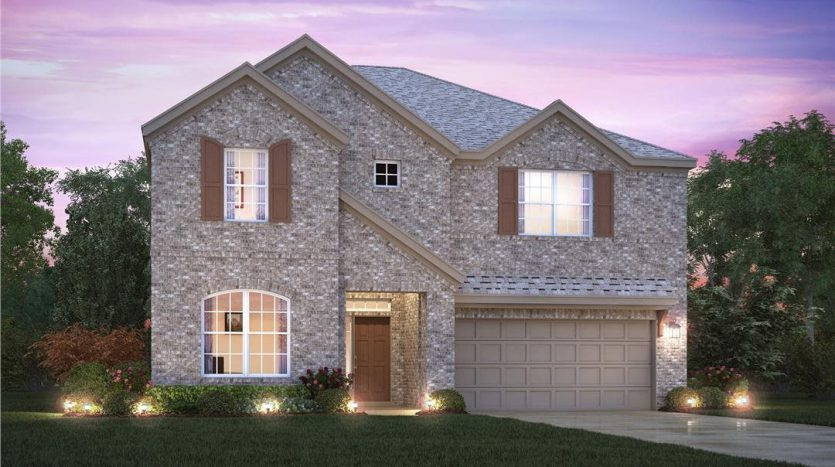 M/I Homes The Preserve At Doe Creek subdivision  Prosper TX 75078