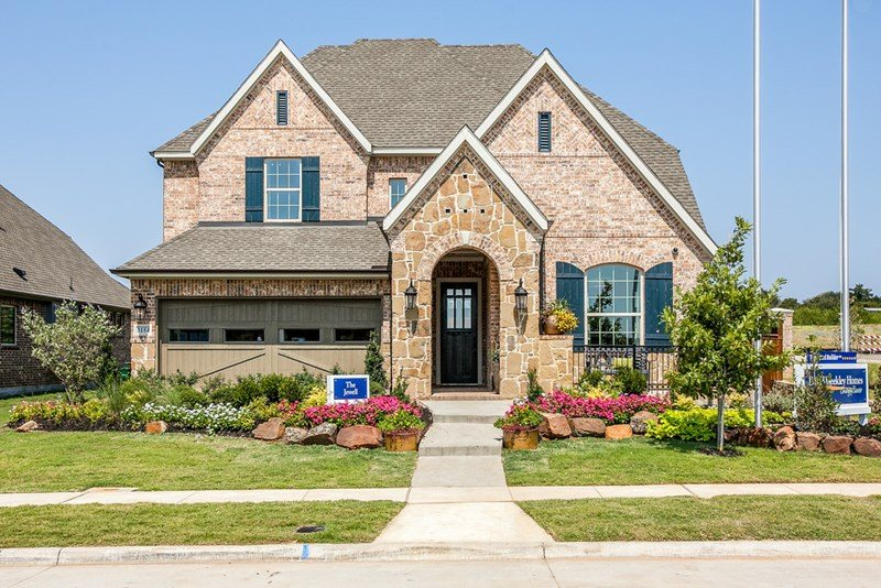 David Weekley Homes-Highland Court Cottage-Flower Mound-TX-75028