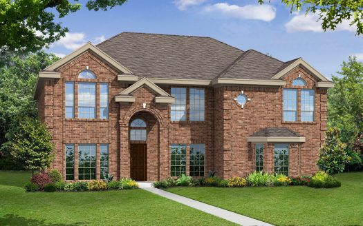 Gallery Custom Homes Lakes of La Cima subdivision  Prosper TX 75078