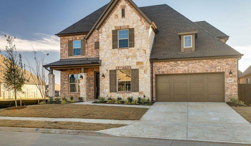 David Weekley Homes Lilyana subdivision  Prosper TX 75078