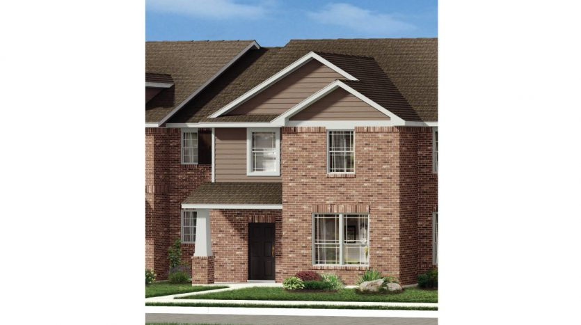 History Maker Homes Brentwood Place Townhomes subdivision 2417 Canongate Drive Denton TX 76207
