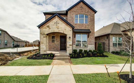 David Weekley Homes Viridian:Viridian Cottage subdivision 4414 Huntsman Ridge Lane Arlington TX 76005