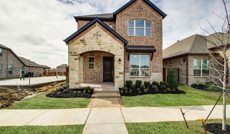 David Weekley Homes Viridian:Viridian Cottage subdivision 4414 Huntsman Ridge Lane Arlington TX 76005