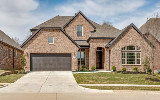 David Weekley Homes Wynn Ridge Estates Village Series subdivision 701 Marioneth Drive McKinney TX 75071