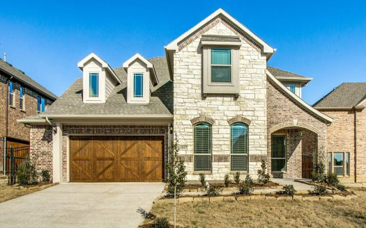 Bloomfield Homes Inspiration subdivision 1817 Silvery Canoe Way Wylie TX 75098