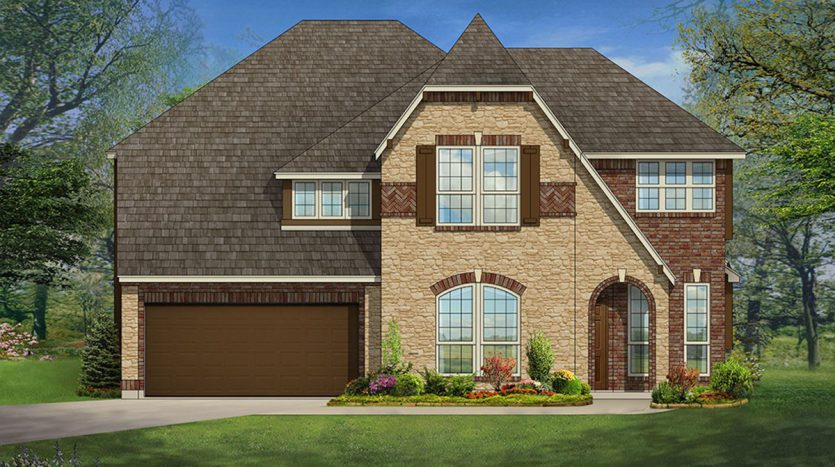 Bloomfield Homes Oak Crest Estates subdivision 325 Revolution Drive Euless TX 76040