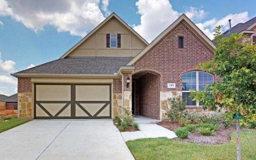 Gehan Homes Paloma Creek subdivision 1709 Yellowthroat Drive Little Elm TX 75068