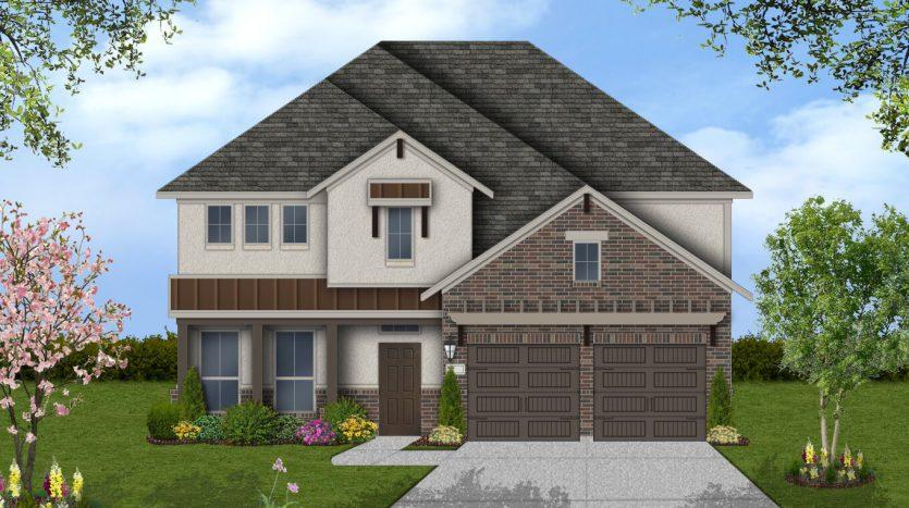 Plantation Homes Trailwood subdivision  Roanoke TX 76262