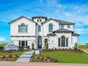 Landon Homes Richwoods Crossing subdivision  Frisco TX 75035