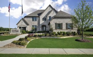 Gehan Homes Trinity Falls:Trinity Falls-River Park-Signature subdivision 7416 Clear Rapids Drive McKinney TX 75071