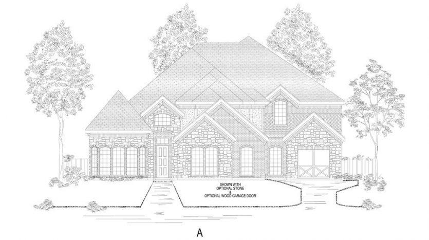 Gallery Custom Homes Lakes of La Cima subdivision  Prosper TX 75078
