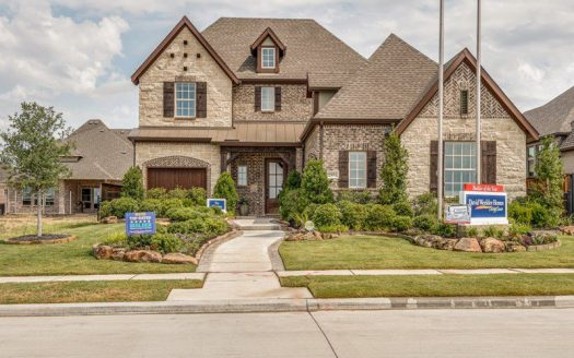 David Weekley Homes Lakewood at Brookhollow subdivision 2891 Meadow Dell Drive Prosper TX 75078