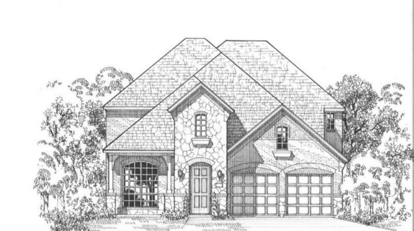 American Legend Homes The Commons at Artesia - 50s subdivision  Prosper TX 75078