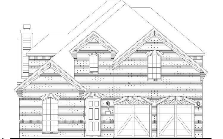 American Legend Homes Star Trail - 55s subdivision  Prosper TX 75078