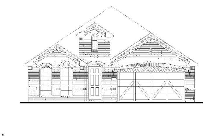 American Legend Homes Lilyana - 50s subdivision  Prosper TX 75078